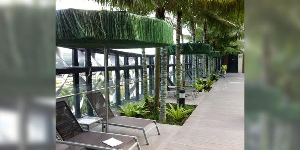 Crown Plaza Changi Airport, Singapore - Frou Frou Parasol