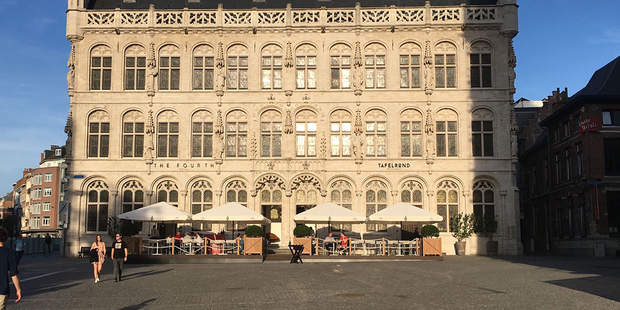 Tafelrond, Leuven - MacSymo Parasol