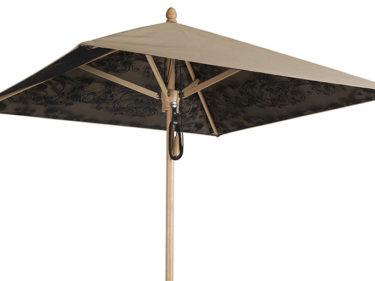 Parasol Cache Cache Wood - 2 x 2 m