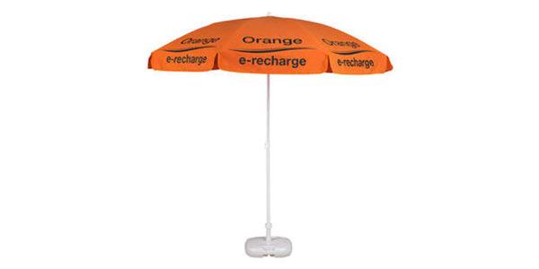 classico parasol 1,90m steel