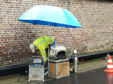 Welding and working umbrella 2.5 m