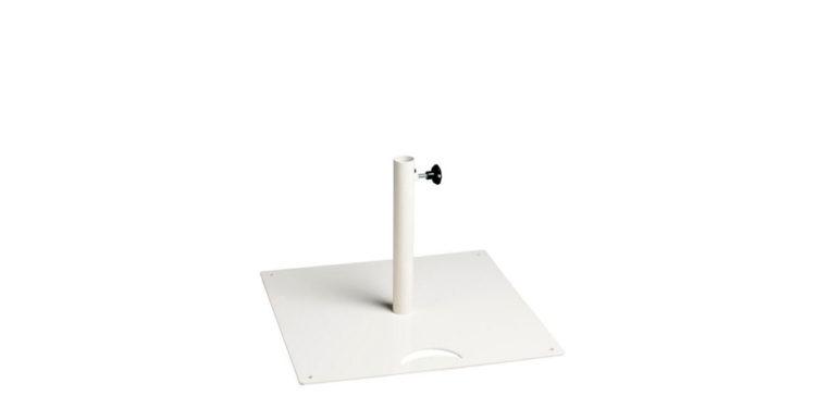parasol base Luna, colour white