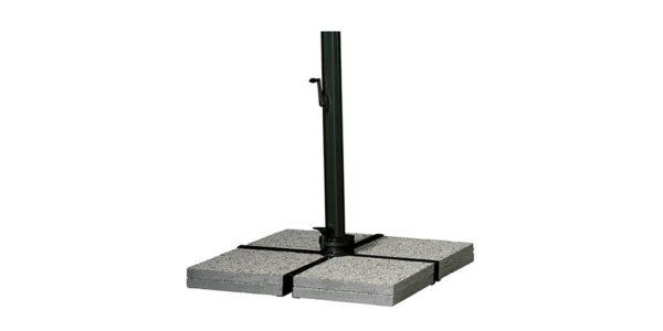 base cruciforme pour parasol Sonata - 120 kg