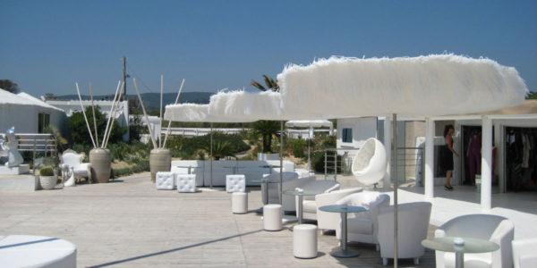 Club les Palmiers, St-Tropez - Frou Frou parasol