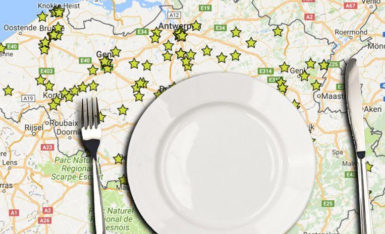 Symo parasols Michelin sterren-restaurants