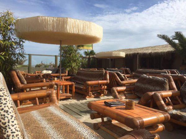 Bamboo Beach Blankenberge springt creatief om met de Frou Frou parasol