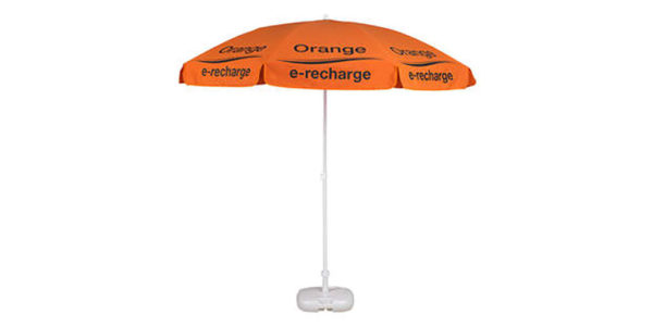 Classico parasol 1.70 m steel