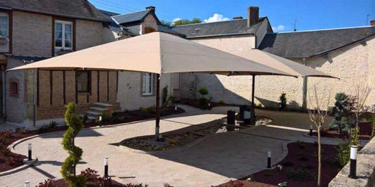 Colosso parasol 7 x 7 m