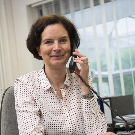 Evelyne Clarysse - Sales administration Symo Parasols