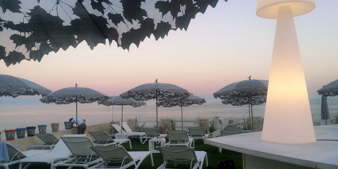 Cala Zaffiro Beach Resort, Syracuse - Shadylace Parasol