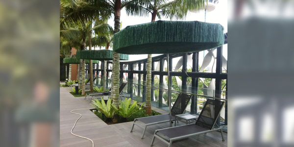 Crown Plaza Changi Airport, Singapore - Frou Frou Parasol