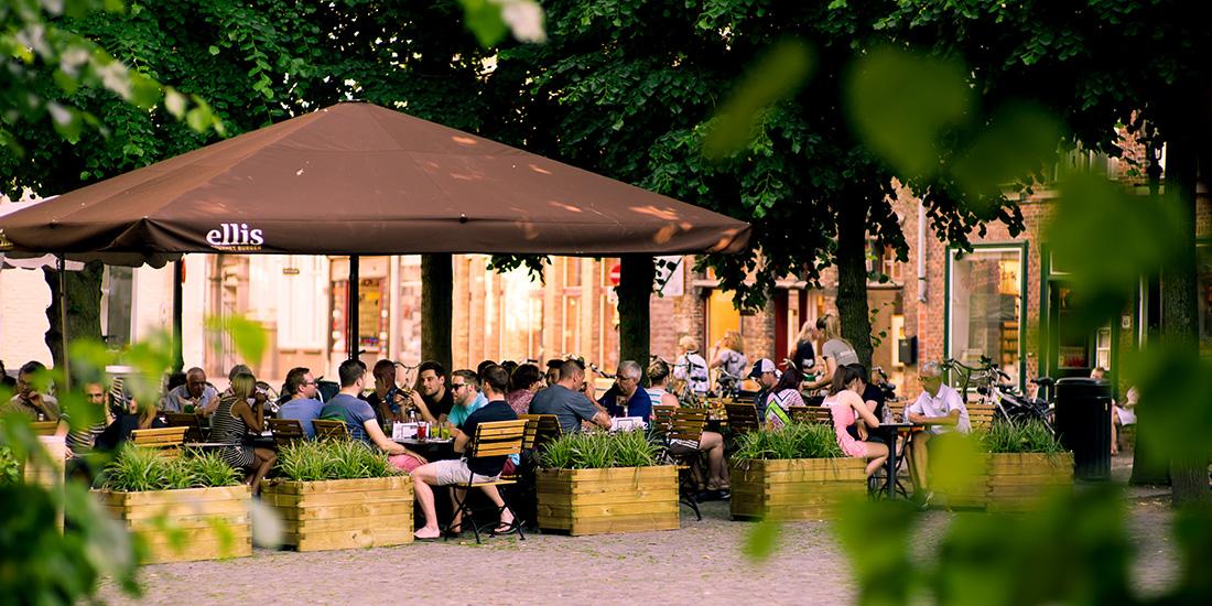 Ellis Gourmet, Brugge - MacSymo Parasol