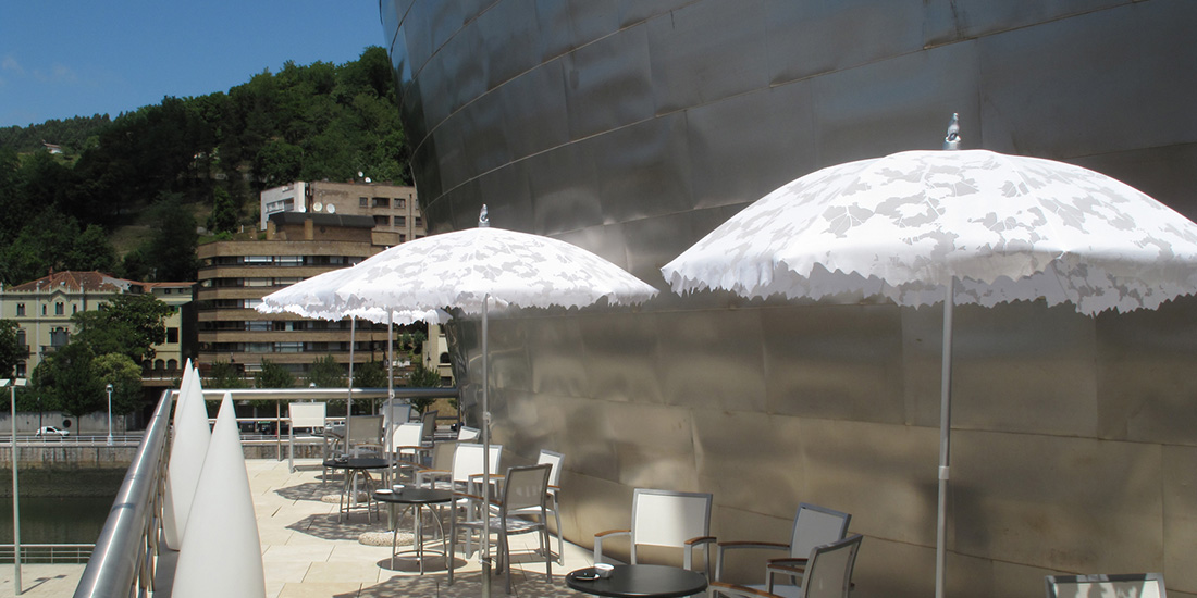 Guggenheim Museum, Bilbao - Shadylace Parasol
