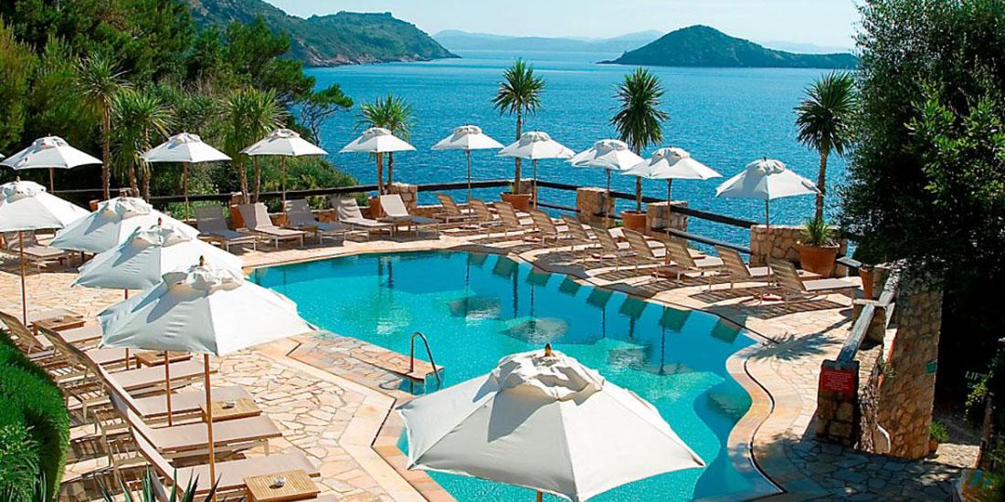 Il Pellicano Hotel - Porto Ercole - custom-parasol