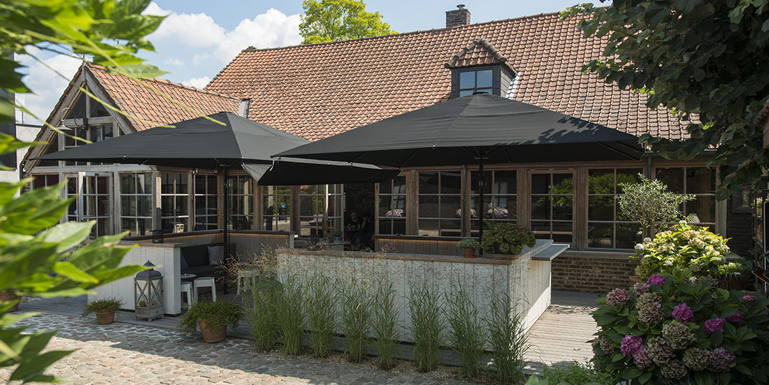Restaurant Het Rusteel, Gullegem - MacSymo Parasol
