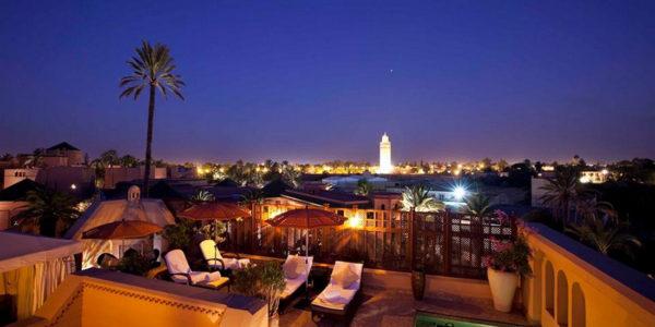 Royal Mansour Hotel, Marrakech - maatwerkparasol