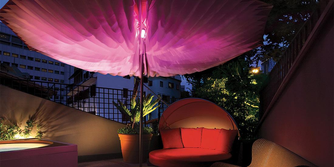 Scarlet Hotel, Singapore - Paddo Parasol