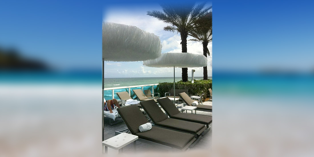 Trump International Beach Resort, Miami - Frou Frou Parasol