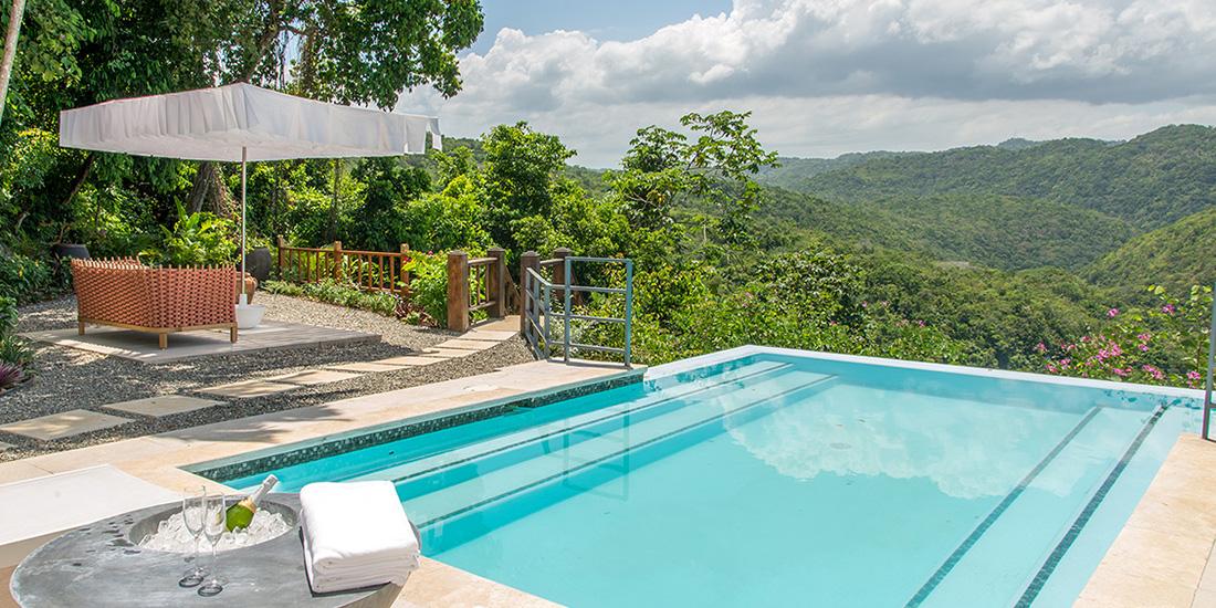 Villa Destiny, Jamaica - Breezer Parasol
