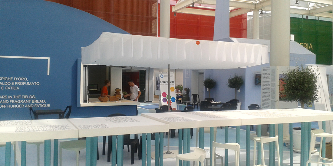 World Expo Milano, Milan - Breezer Parasol