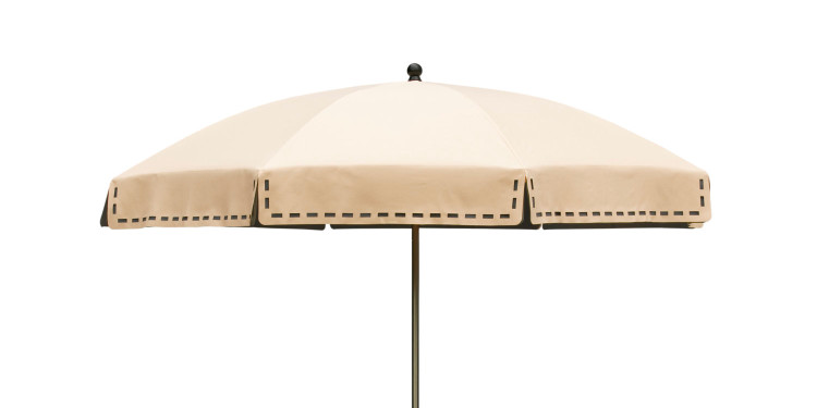 Couture parasol beige-grey