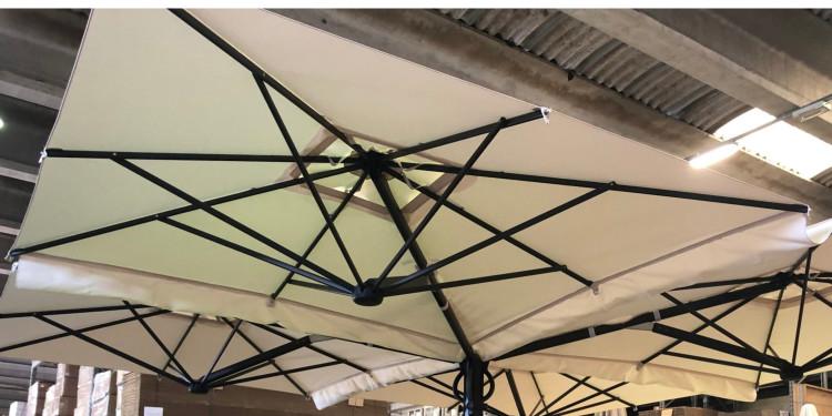Gouttière pour parasol Trevo