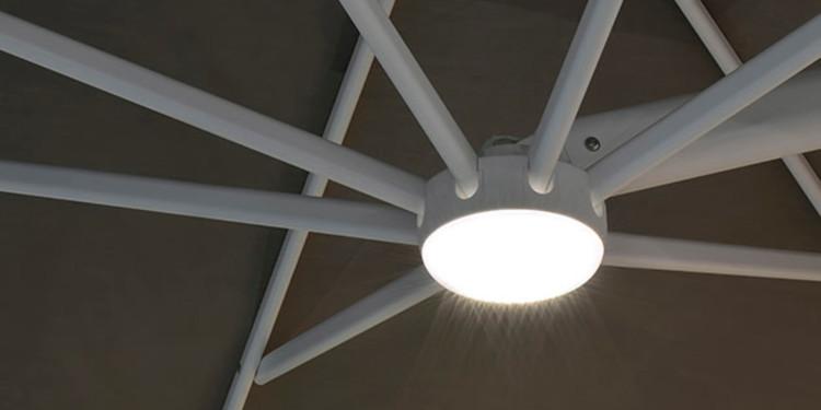 Eclairage pour parasol Trevo
