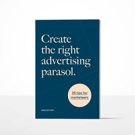 Create the right advertsing parasol