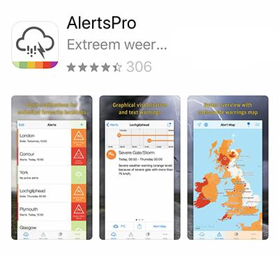 AlertsPro app