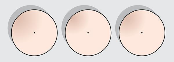 Ronde parasols diagramma