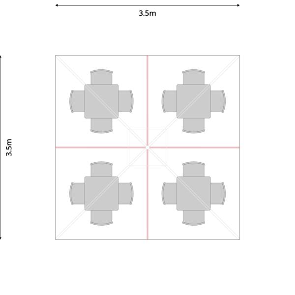 Symo_3,5x3,5m_SeatedWithSafesheet_4x4