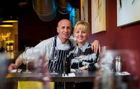 Kim and Sam Wightman - owners of Kisa's Restaurants
