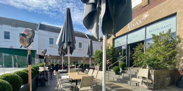 Kisas Restaurant, Perth - MacSymo Parasol
