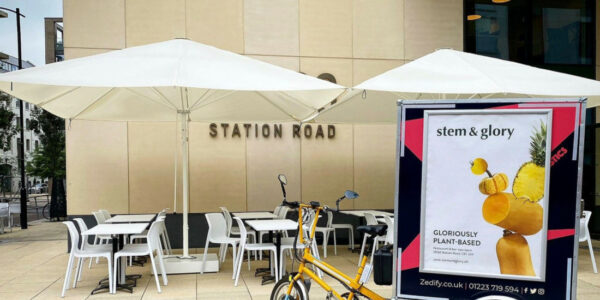 Stem & Glory, Cambridge - MacSymo parasol